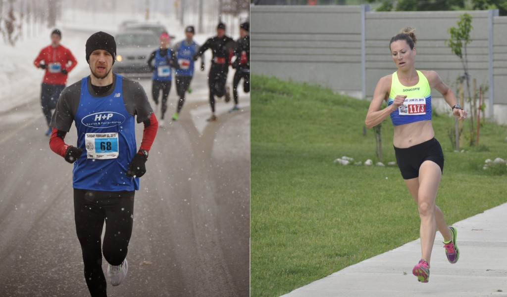 Waterloo Running Series, Adam Hortian, Erin Mcclure, Fastisfun