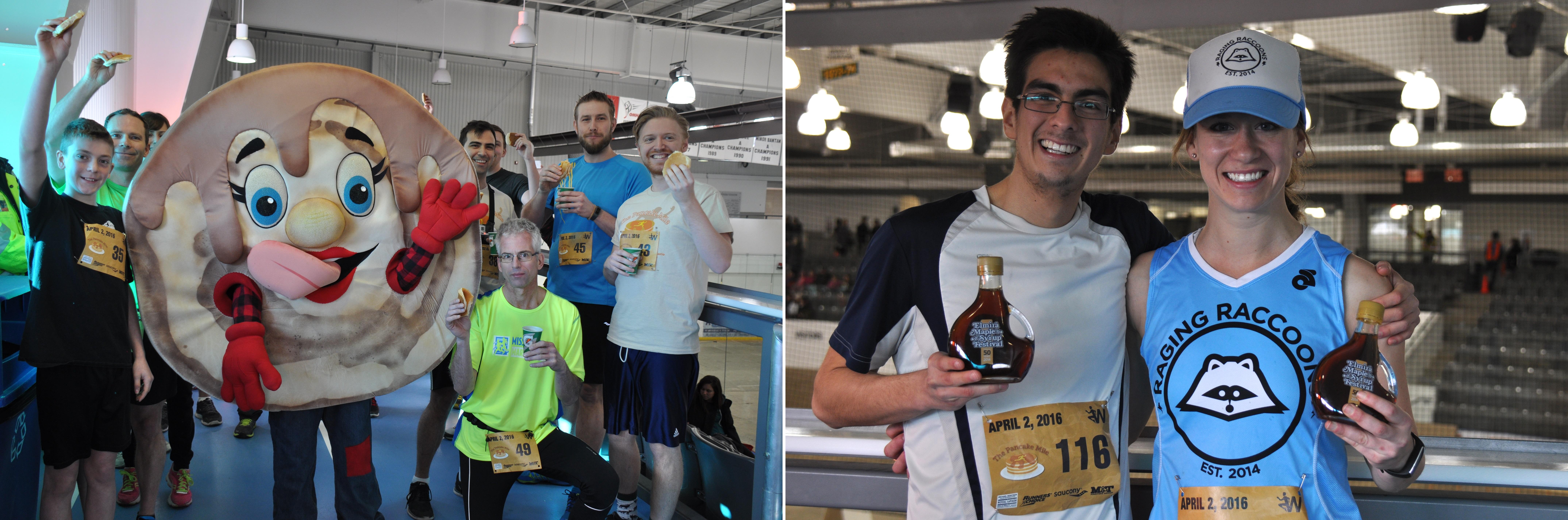 Pancake Mile, Elmira Maple Syrup Festival
