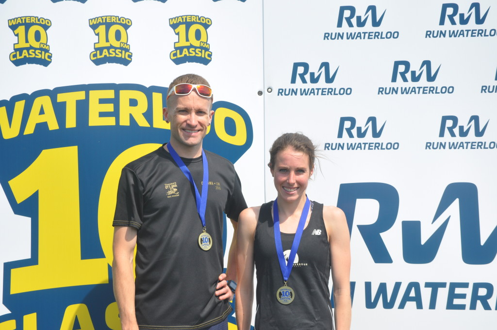 John McLean, Stephanie MacNeill, Waterloo 10 KM Classic