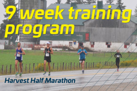 Harvest Half: 9 week training program