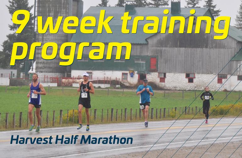 Harvest Half: 9 week training program