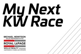 "Will Santa Pur-suit be your ""My Next KW Race'"