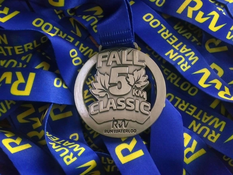 Fall Classic medals