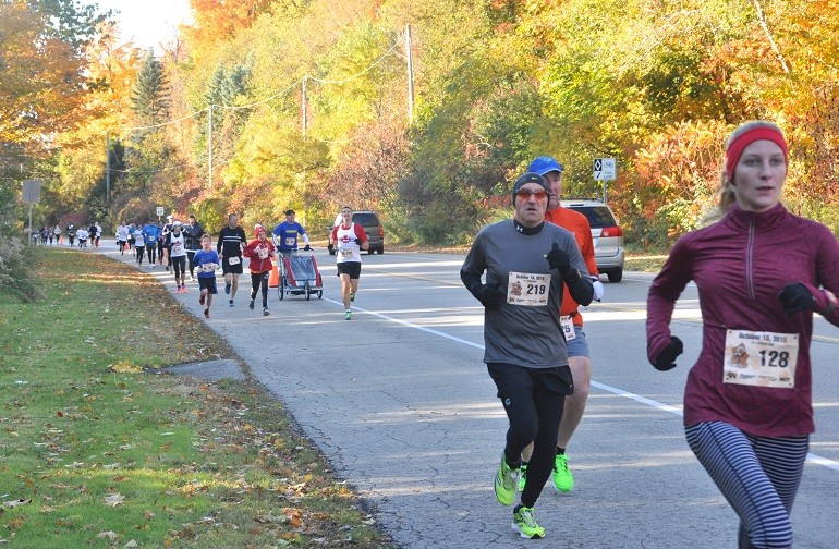 Fall 5 KM Classic: this course is Octoberfast
