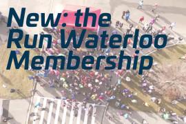 New for 2017: the Run Waterloo membership