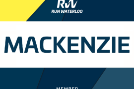 January member perk: personalized race bibs