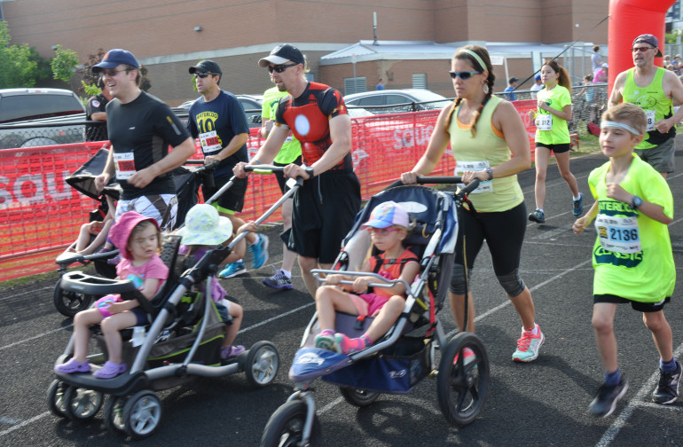 Stroller your way to a 5k