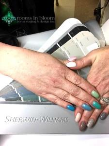 RIB fandeck nails