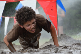 Muddy times at the 2017 Dirty Dash