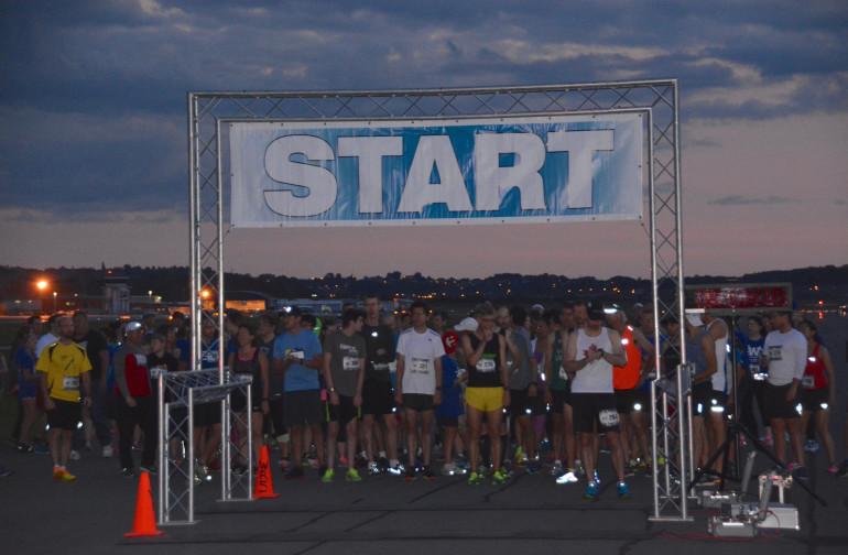 Running the Runway at dusk!