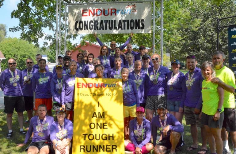 Run Waterloo members Robert and Vicki win the 2017 ENDURrun
