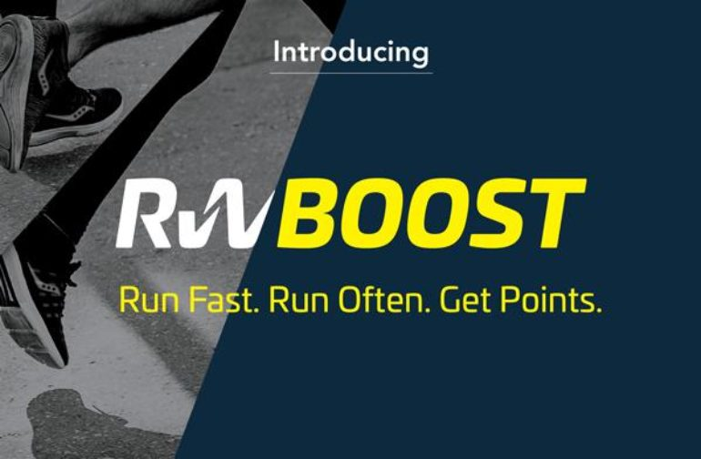 RW Boost: Run Fast. Run Often. Get Points.