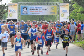 Super day at the Rotary Classic Superhero Run!