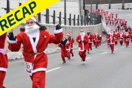 Santa comes to town at the 7th Santa Pur-suit
