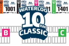 New for 2019: start corrals at Waterloo Classic