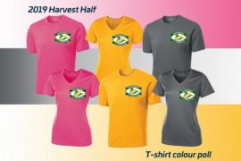 T-shirt Tuesday: Harvest Half POLL