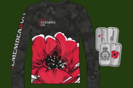 The 2019 RememberRun t-shirt