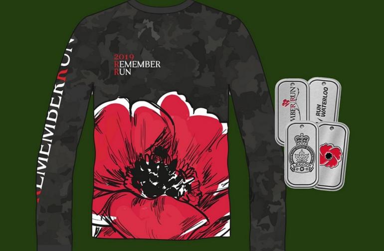 The 2019 RememberRun t-shirt