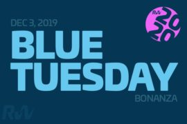 Blue Tuesday is here. The lowest prices of the year!