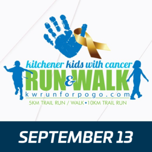 Kitchener Kids with Cancer Run & Walk