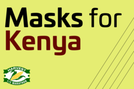 "Harvest Half race becomes ""Masks for Kenya"""